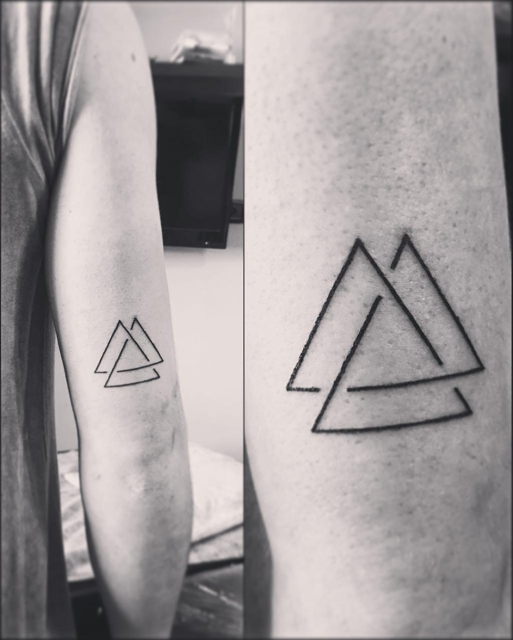 Tatuaże Geometryczne 32 Wzory Dla Perfekcjonistów Etatuatorpl