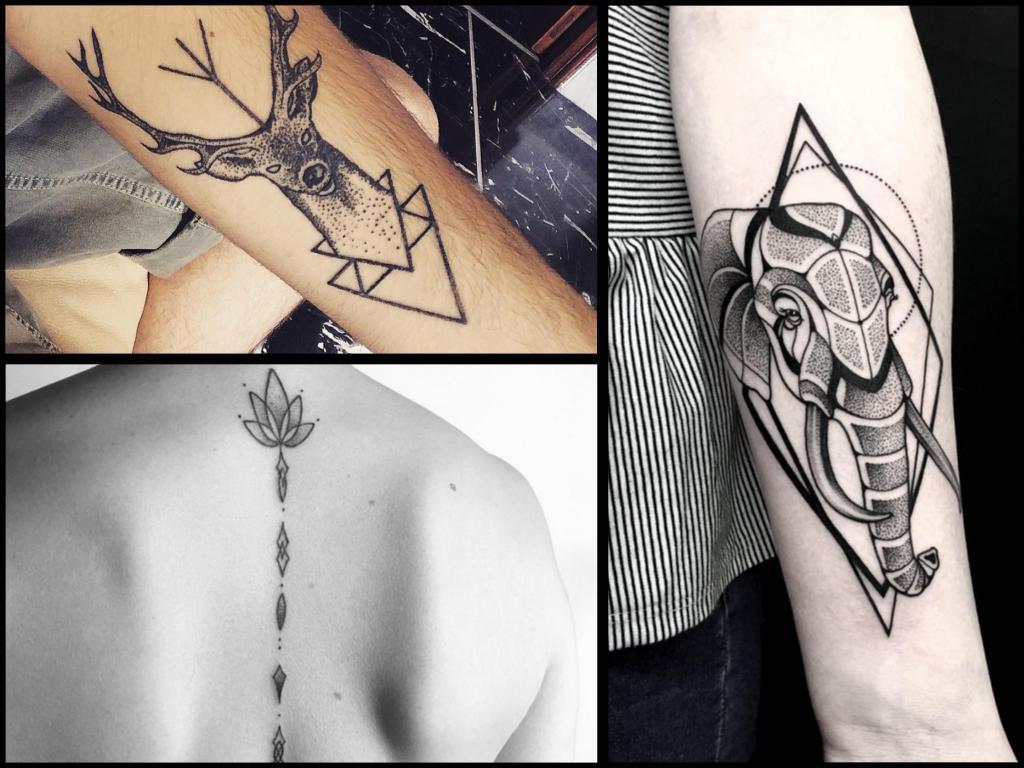 Tatuaże Geometryczne 32 Wzory Dla Perfekcjonistów