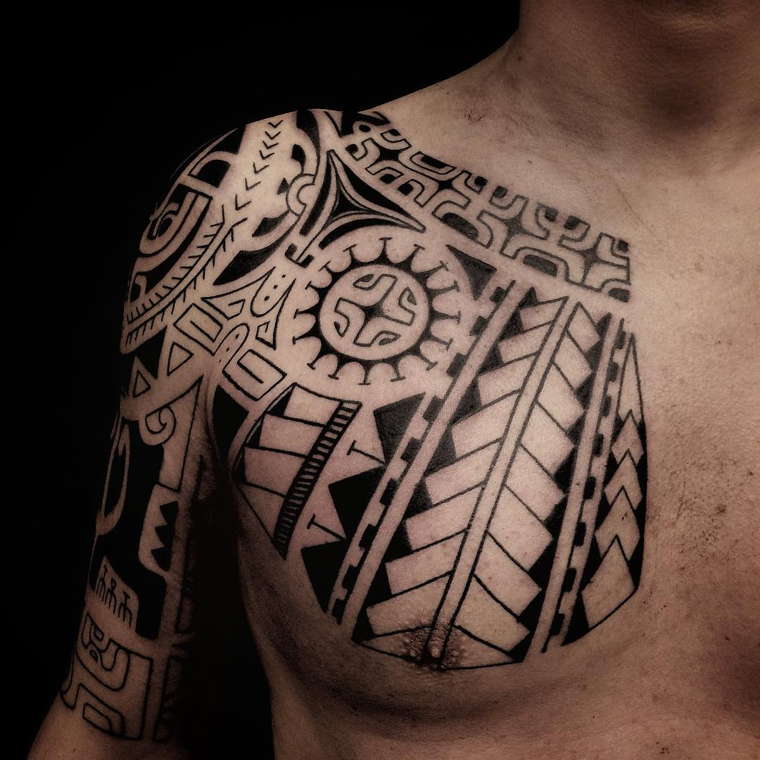 tatuaż tribal