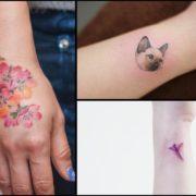 Damskie tatuaże na nadgarstek – 35 znakomitych wzorów