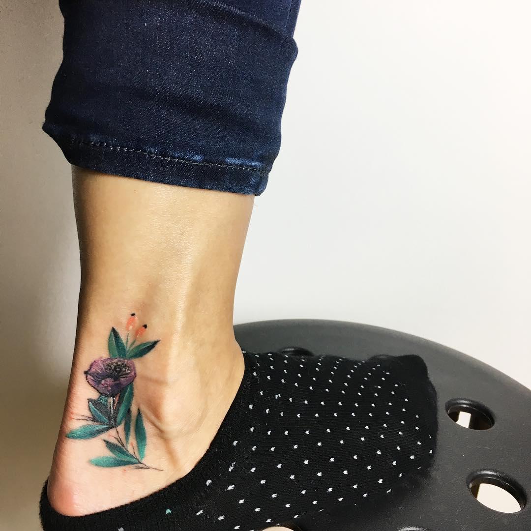 Tatuaż Na Kostce 25 Imponujących Pomysłów Etatuatorpl
