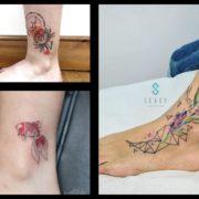 Tatuaż na kostce – 25 imponujących pomysłów