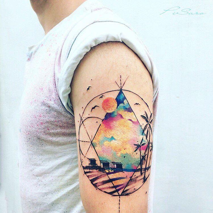 Tatuaż Na Ramieniu 32 Kreatywnych Wzorów Etatuatorpl