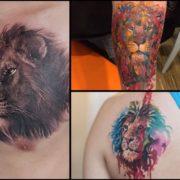 Tatuaż lew – galeria 23 wzorów dla odważnych