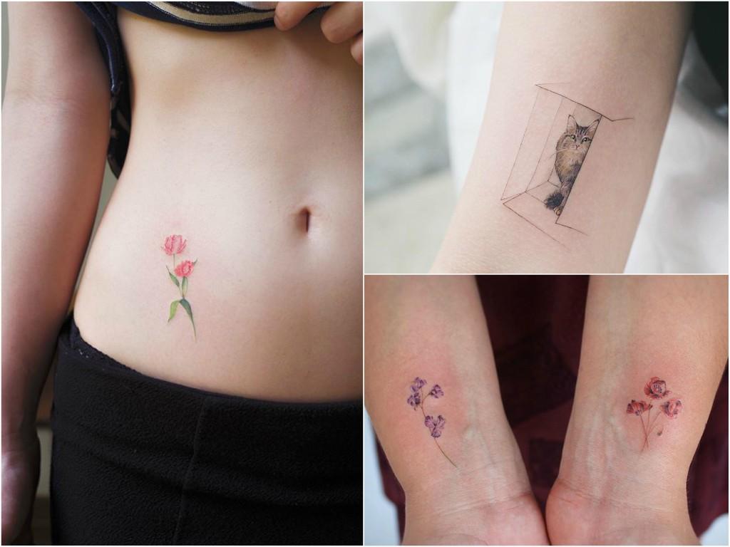 Małe Tatuaże Galeria 41 Subtelnych Wzorów Etatuatorpl