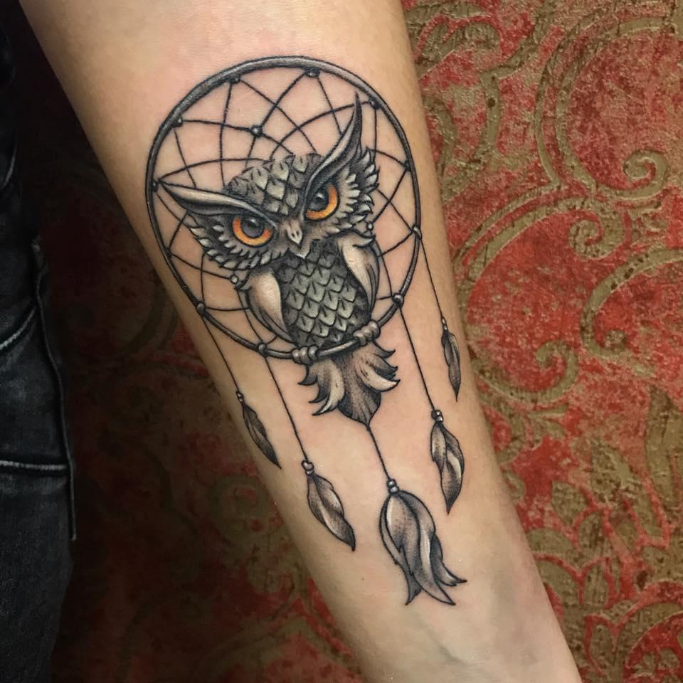 Studio Tatuażu Monkey Mandala Etatuatorpl