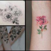 Tatuaż róża – 35 inspirujących wzorów na modny motyw