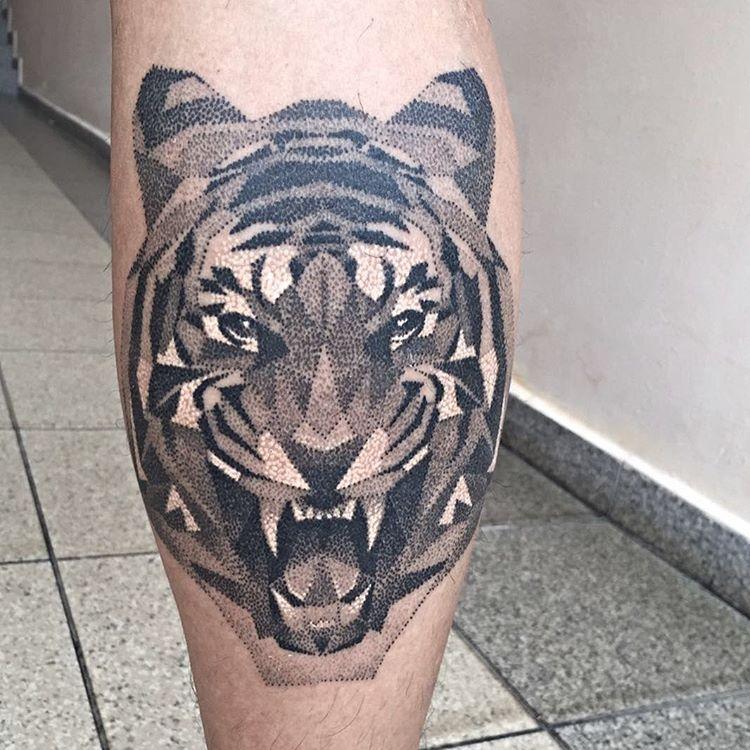 Tatuaż Tygrysa 35 Unikalnych Projektów Na Tatuaż