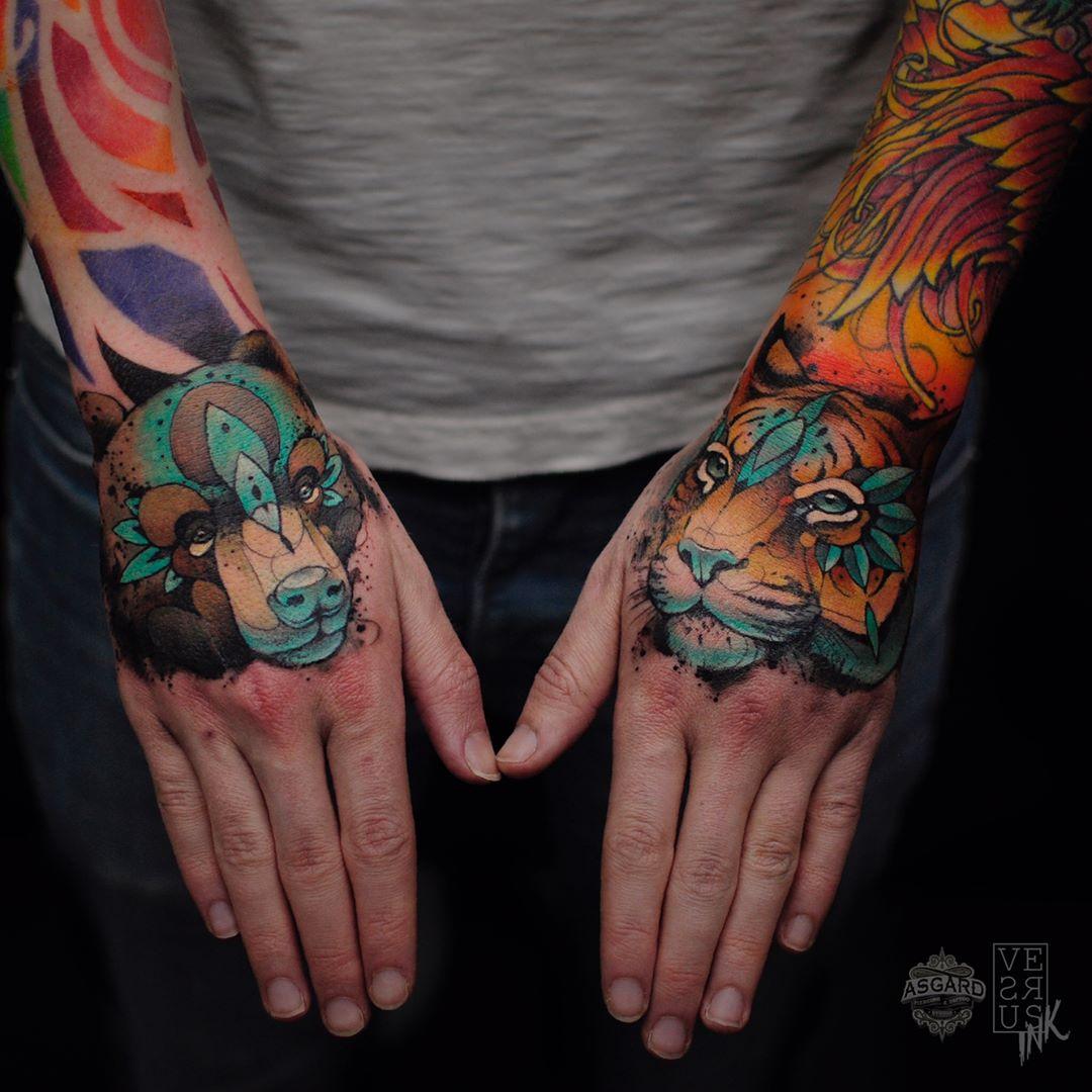 Tatuaz Tygrysa 35 Unikalnych Projektow Na Tatuaz Etatuator Pl