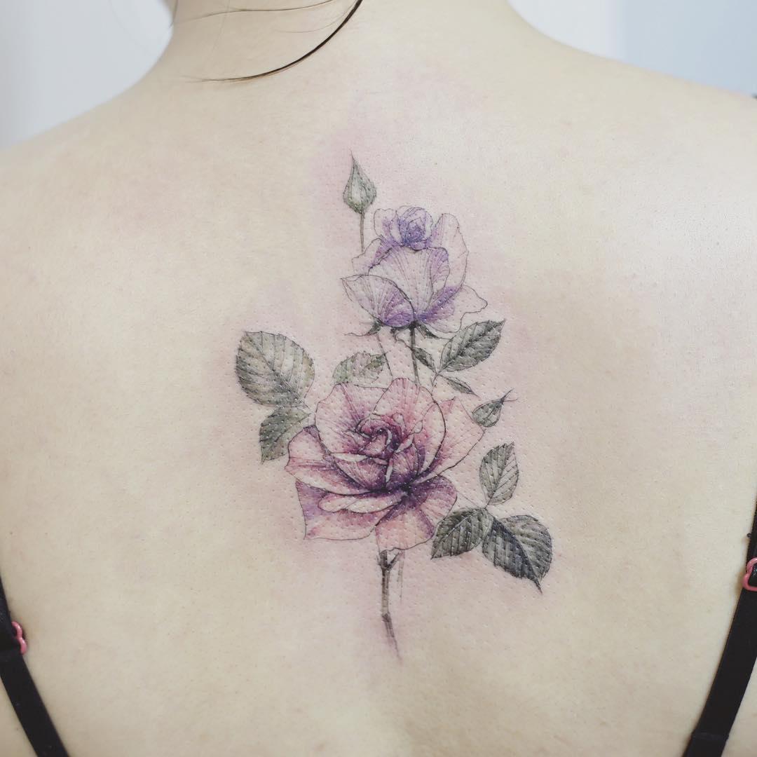 Tatuaż Róża