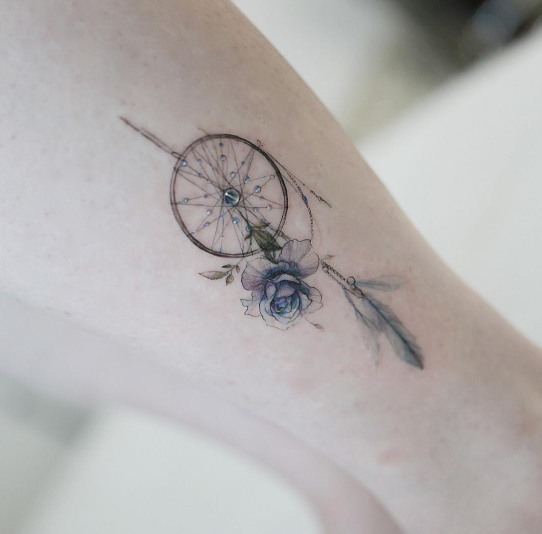 Tatuaże Róża