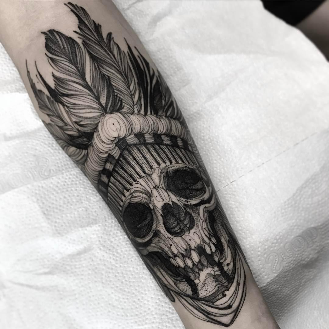 Tatuaże Czaszki