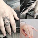 Tatuaże na palcach dłoni – 34 maleńkie wzory