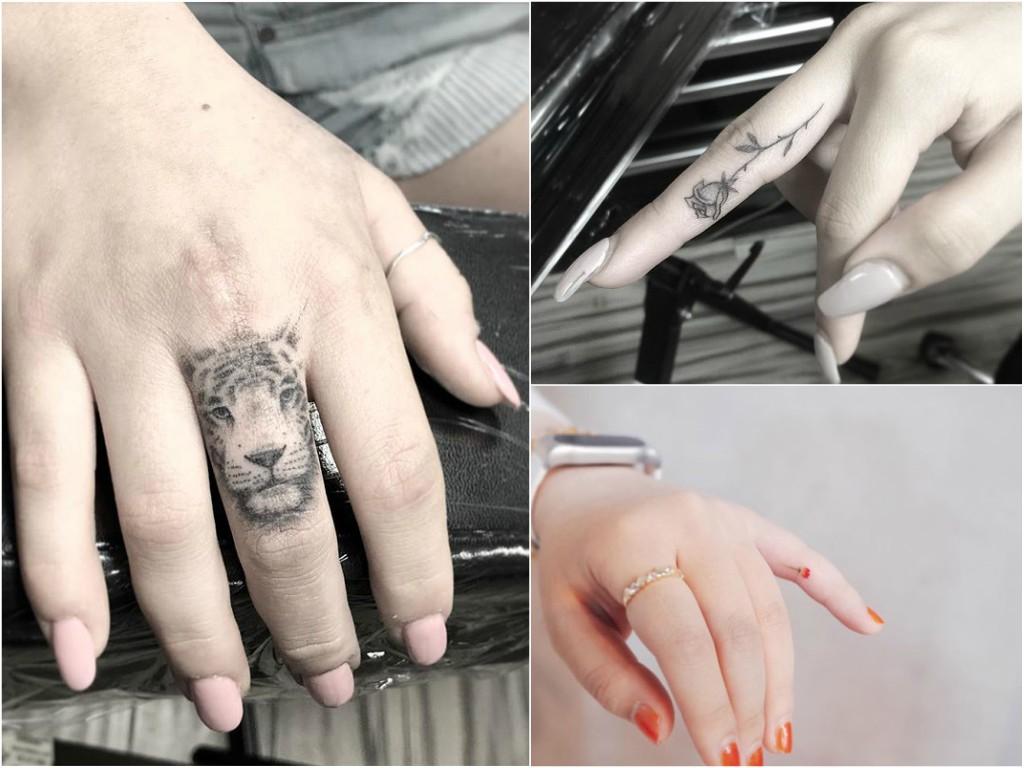 Tatuaże Na Palcach Dłoni 34 Maleńkie Wzory Etatuatorpl