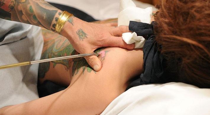 Technika tatuowania Tebori