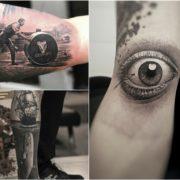 Tatuaże w 3D – 54 realistyczne wzory