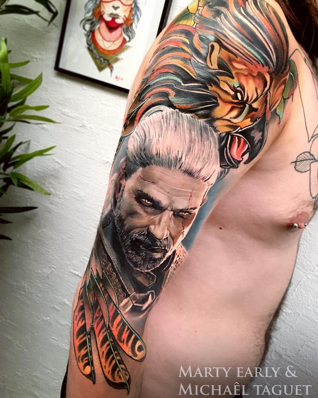 Tatuaże W 3d 54 Realistyczne Wzory Etatuatorpl