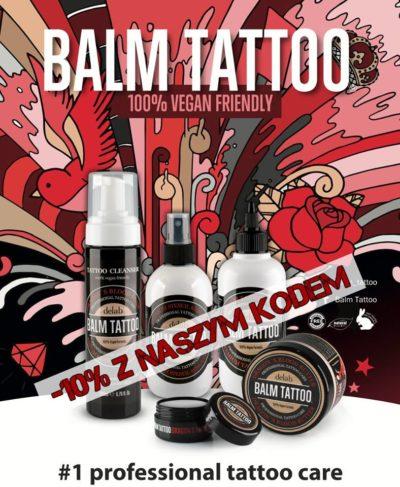 Wegański zestaw do pielęgnacji tatuażu