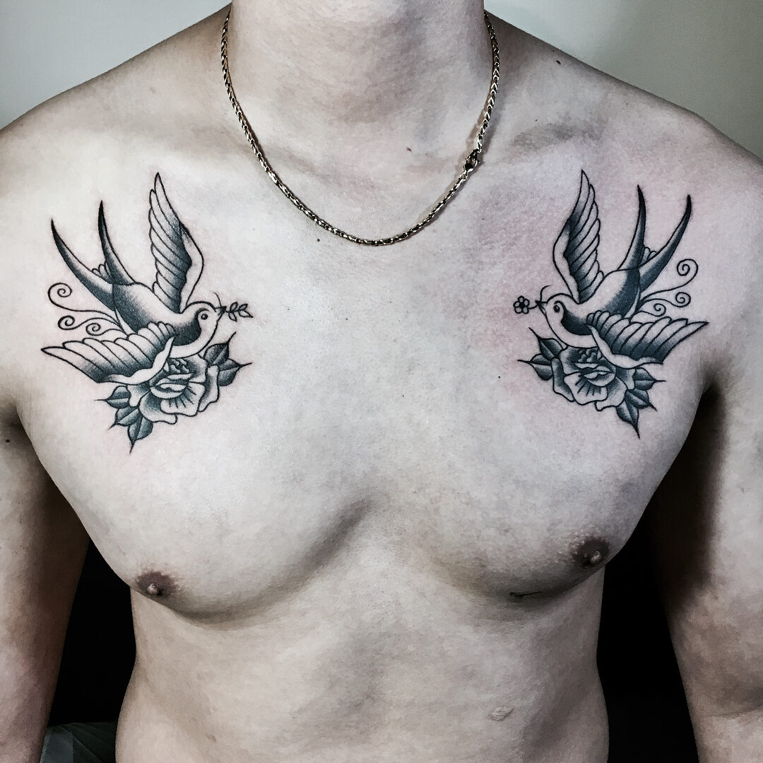 Jakie Znaczenie I Symbolikę Ma Tatuaż Jaskółka Etatuatorpl