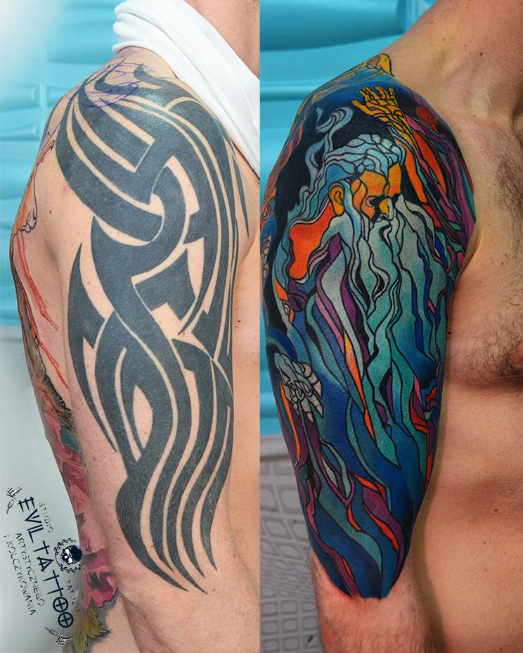 Cover Up Tatuażu Czyli Zakrycie Tatuażu Innym Etatuatorpl