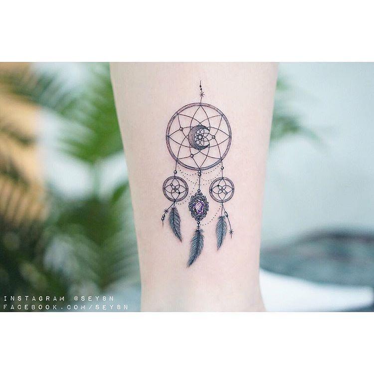 tatuaż łapacz snów