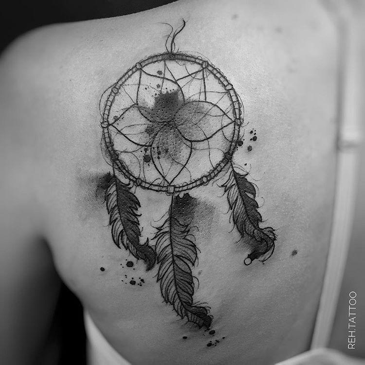 Tatuaż łapacz Snów 30 Pięknych I Inspirujących Wzorów