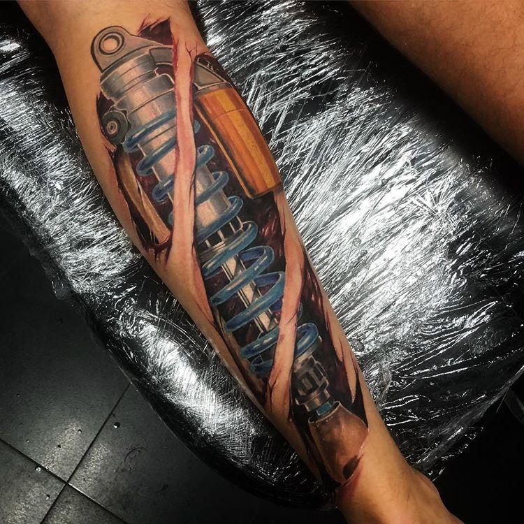 Tatuaż Biomechaniczny 22 Imponujących Wzorów Etatuatorpl