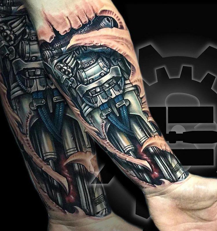tatuaż na plecach