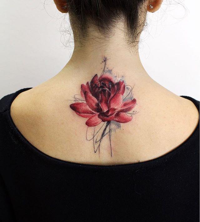 Tatuaż Kwiat Lotosu Galeria 34 Pomysłów Na Piękny Wzór
