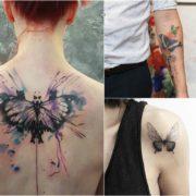 Tatuaż motyl – galeria 30 pomysłów na wzór