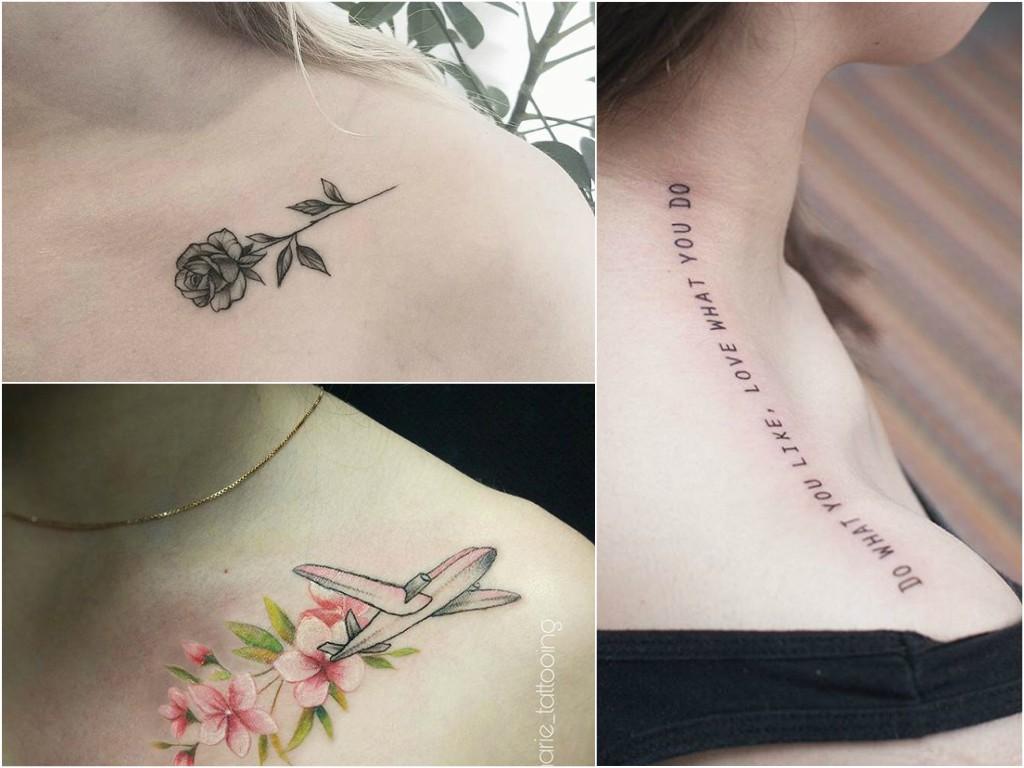 Tatuaż Na Obojczyku 30 Pomysłów Na Ciekawy Wzór Etatuatorpl