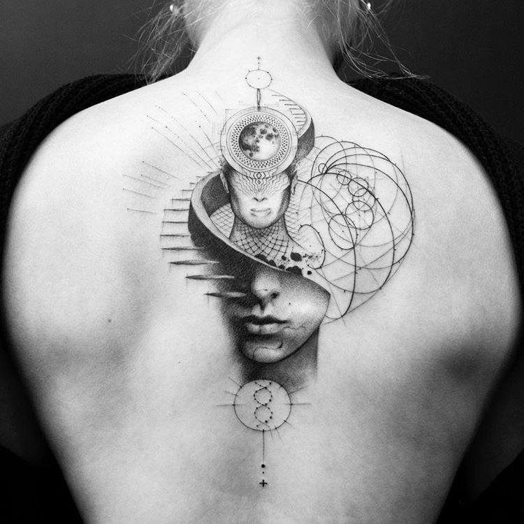 Tatuaż Na Plecach Galeria 42 Imponujących Wzorów