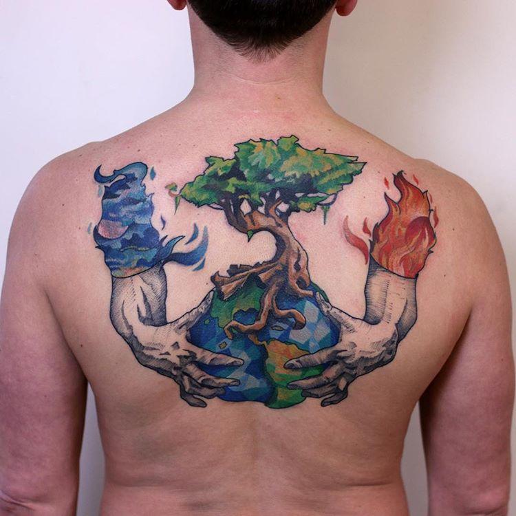 Tatuaż Na Plecach Galeria 42 Imponujących Wzorów Etatuatorpl