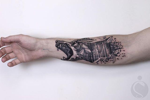 Tatuaż Na Przedramieniu 42 Imponujące Pomysły Na Wzór Etatuatorpl