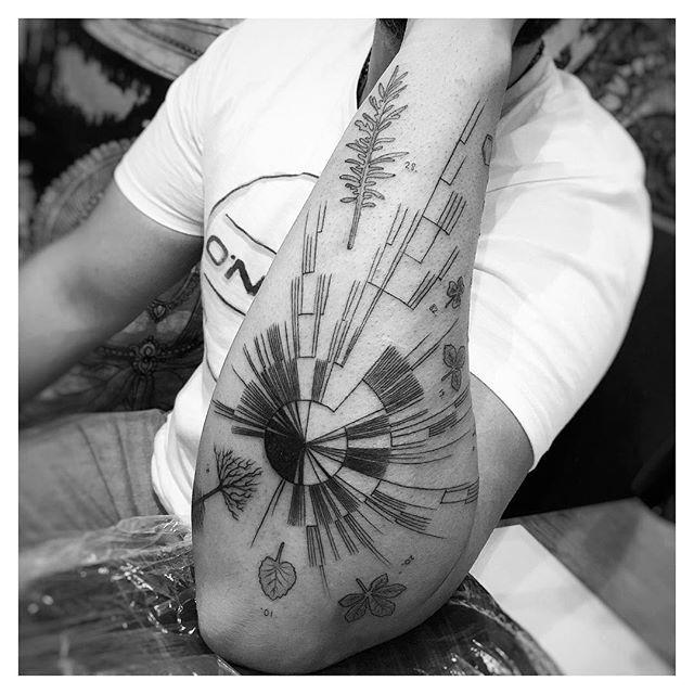 tatuaż na przedramieniu