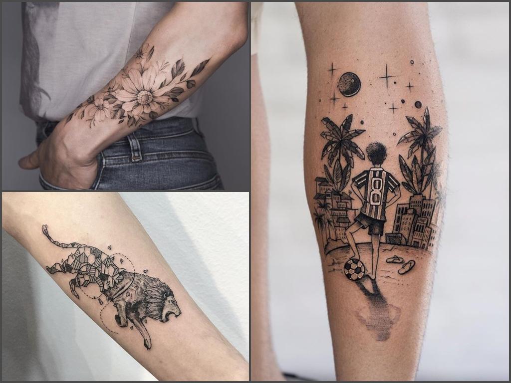 Tatuaże Na Ręce 35 Interesujących Pomysłów Na Wzór
