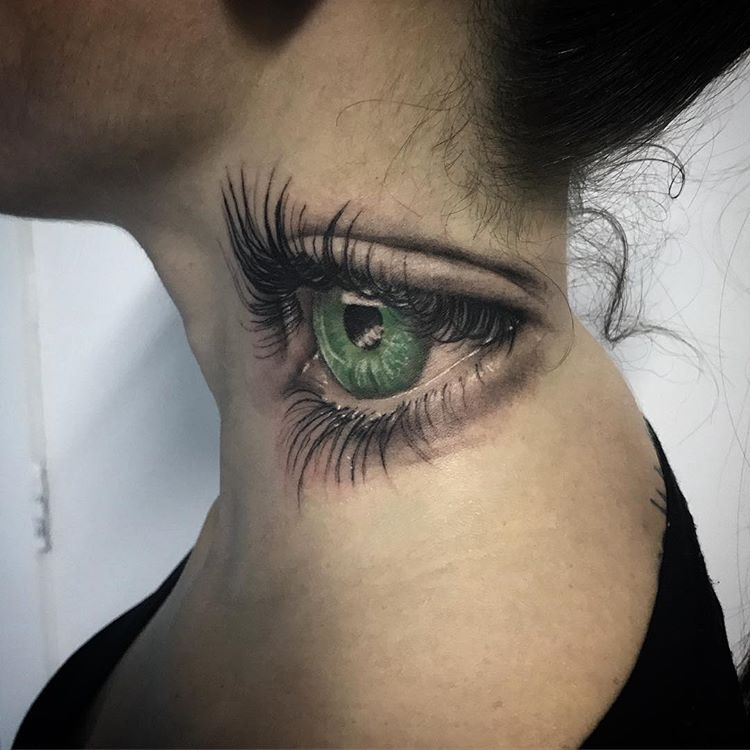 Tatuaż Na Szyi 26 Inspirujących Projektów Na Tatuaż