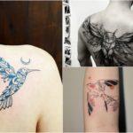 Tatuaż ptaki – 38 interesujących wzorów