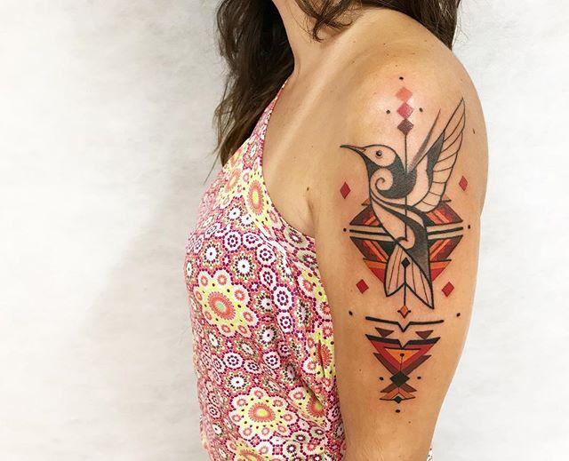 Tatuaż Ptaki 38 Interesujących Wzorów Etatuatorpl