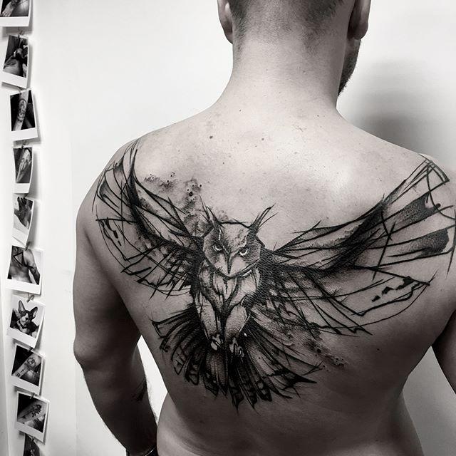 tatuaż ptaki