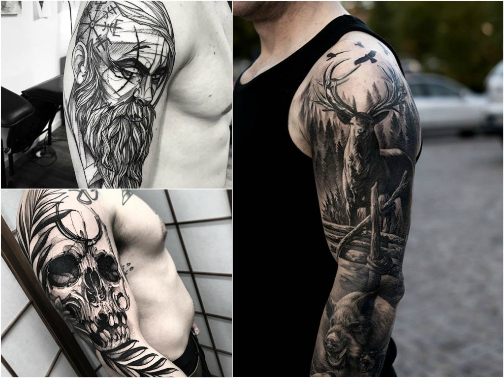 Tatuaże Męskie Na Ramieniu 30 Inspirujących Wzorów