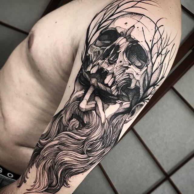 Tatuaże Męskie Na Ramieniu 30 Inspirujących Wzorów Etatuatorpl