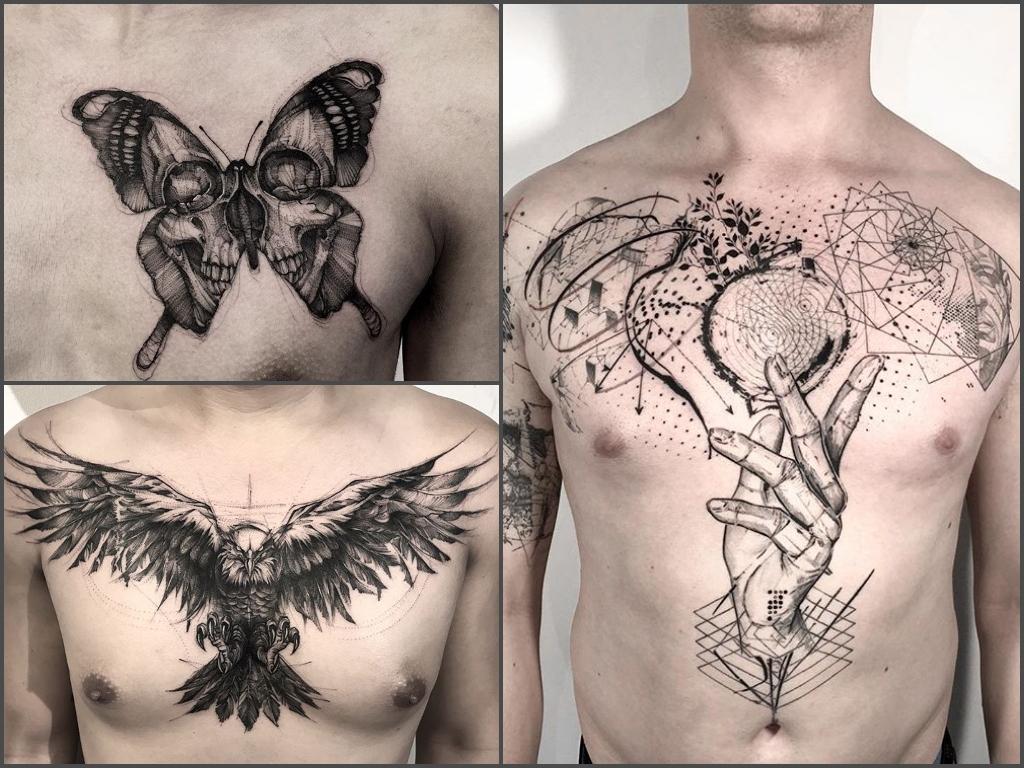 Tatuaże Na Klatce Piersiowej 35 Przykładowych Wzorów Dla Mężczyzn