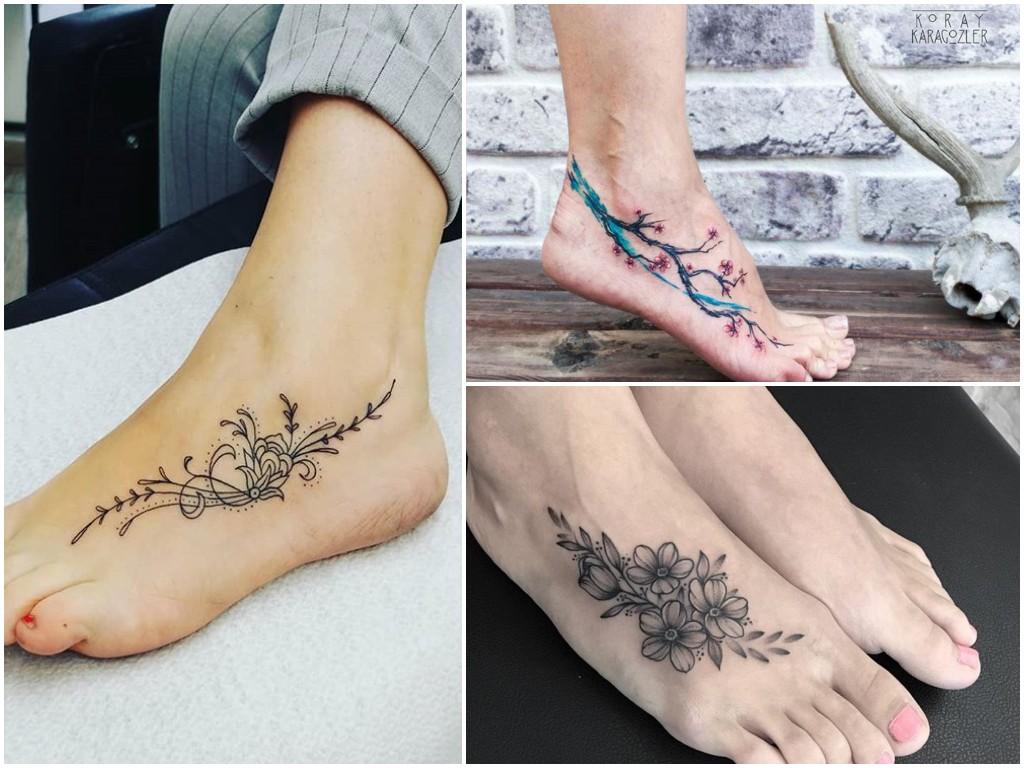 Tatuaże Na Stopie 28 Pomysłów Na Fantastyczny Wzór
