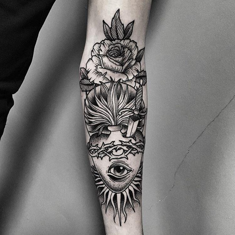 tatuaże z motywem oka