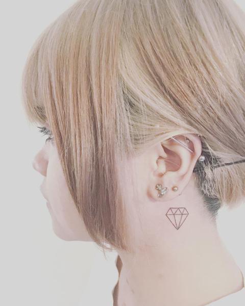Tatuaż diament