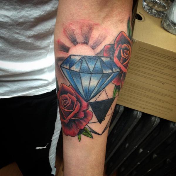 Tatuaż Diament Znaczenie I Symbolika Etatuatorpl