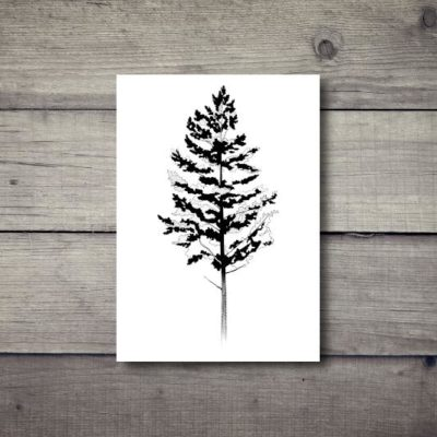 Tatuaż tymczasowy drzewo