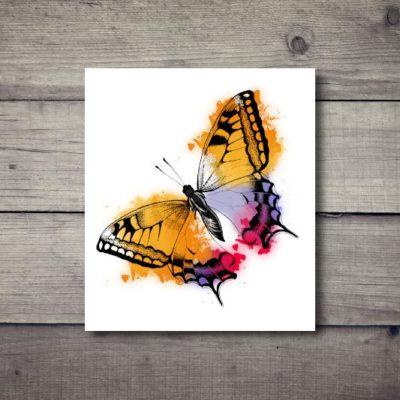 Tatuaż tymczasowy motyl