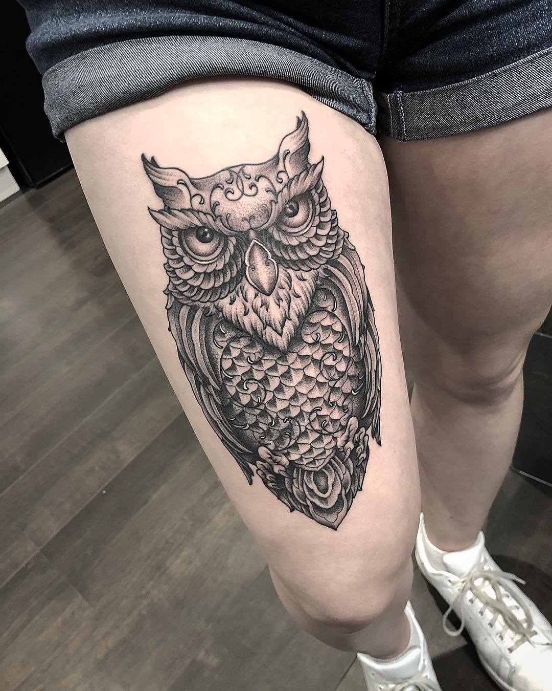 Tatuaż Sowa Symbolika I Znaczenie Etatuatorpl
